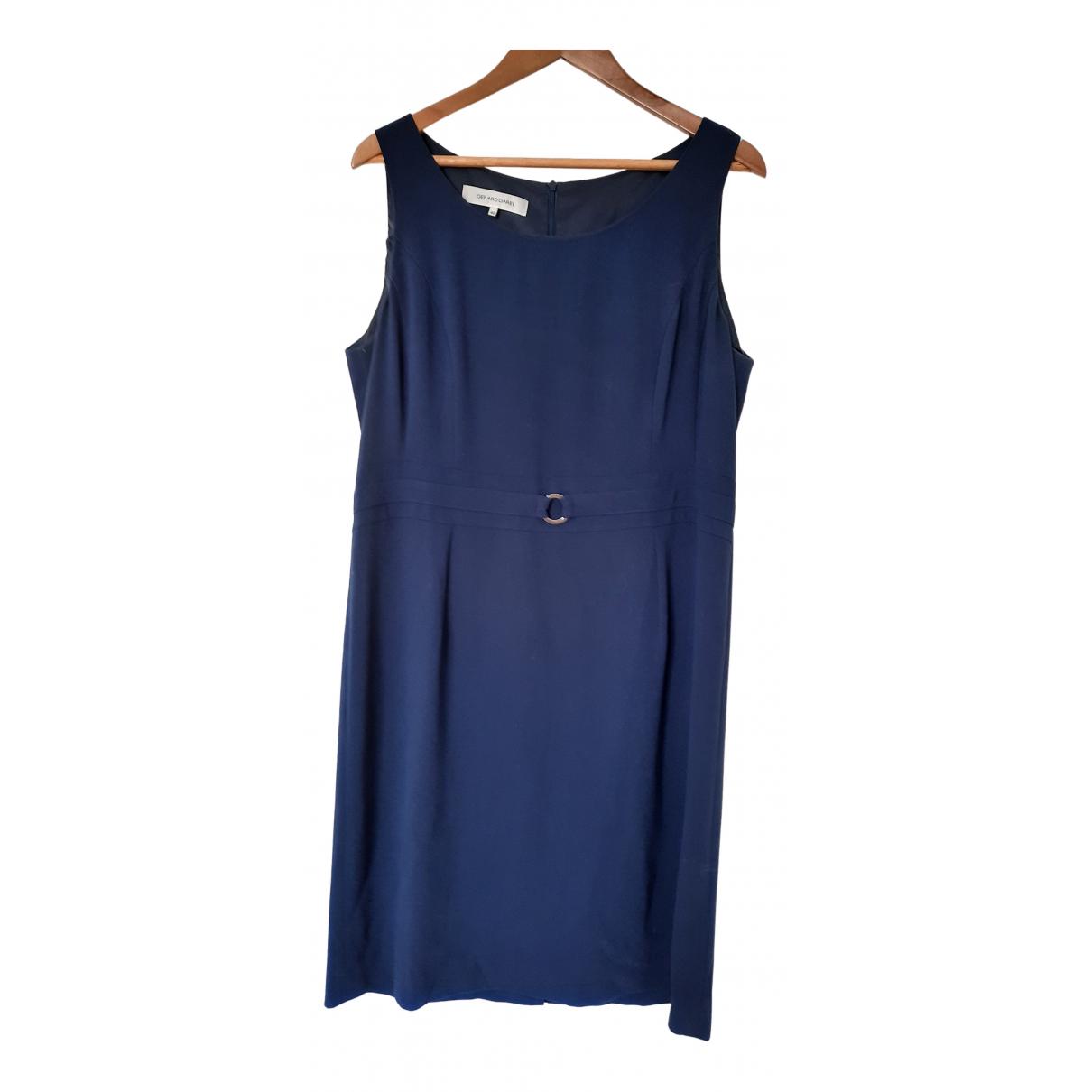 Gerard Darel \N Kleid in  Blau Polyester