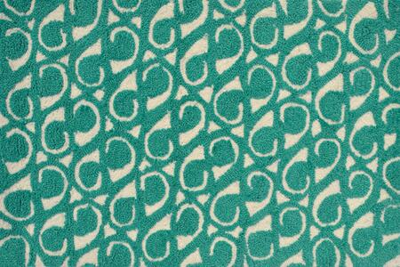 PA0097E 7 x 10 ft. Yang Teal Area Rug  in Teal and