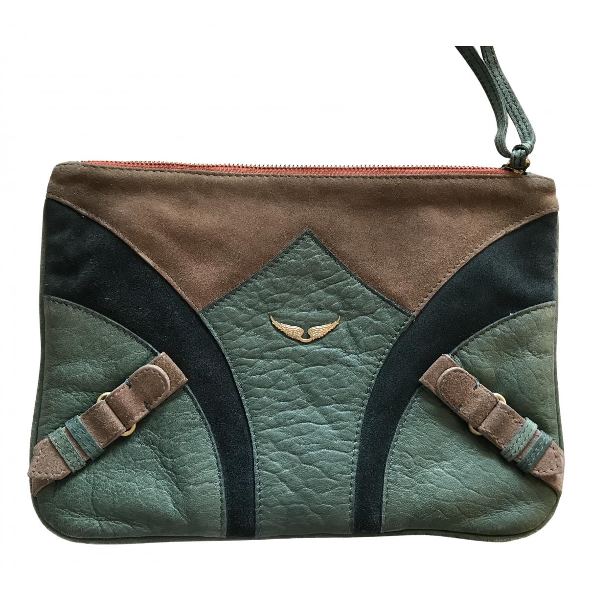 Zadig & Voltaire N Green Fur Clutch bag for Women N