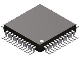 Analog Devices ADV7125KSTZ140, Video DAC Triple, 8 bit- 140Msps ±5%FSR Parallel, 48-Pin LQFP