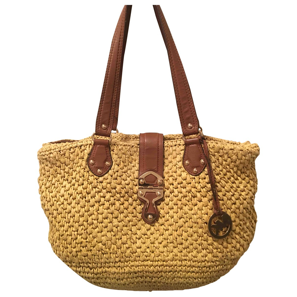 Michael Kors \N Yellow Wicker handbag for Women \N