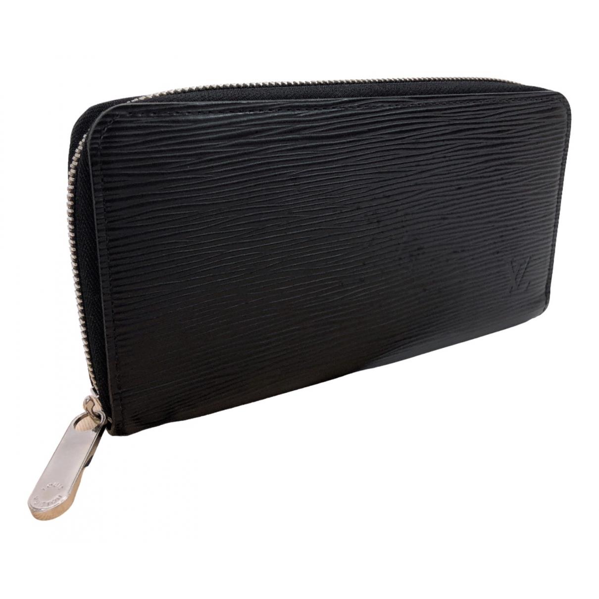 Louis Vuitton - Petite maroquinerie   pour homme en cuir - argente