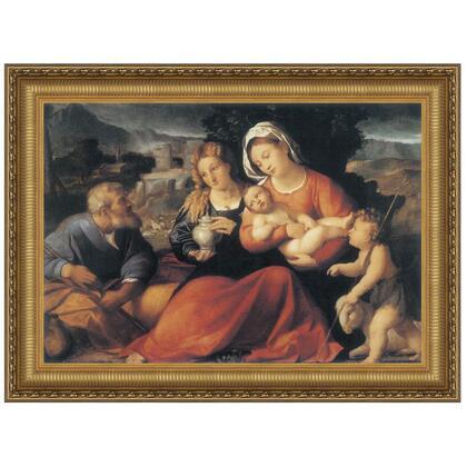 DA2932 29X22.5 Holy Family With Mary