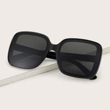 Men Square Frame Sunglasses
