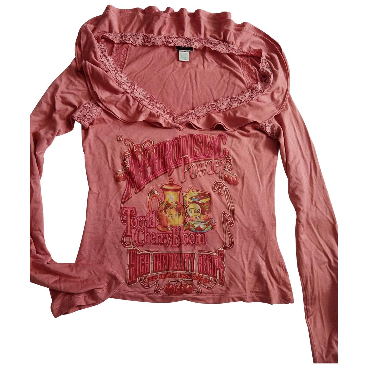 D&g \N Pink Cotton  top for Women M International