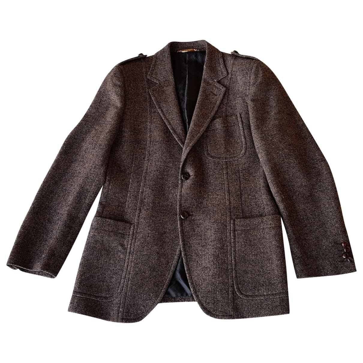 Dolce & Gabbana \N Jacke in  Braun Wolle