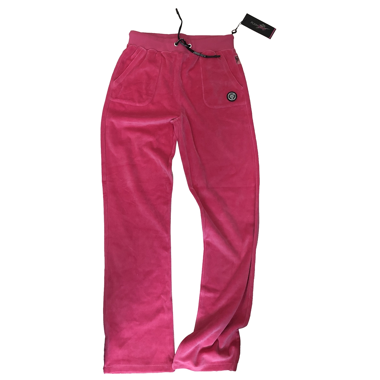 Non Signé / Unsigned \N Pink Cotton Trousers for Women S International