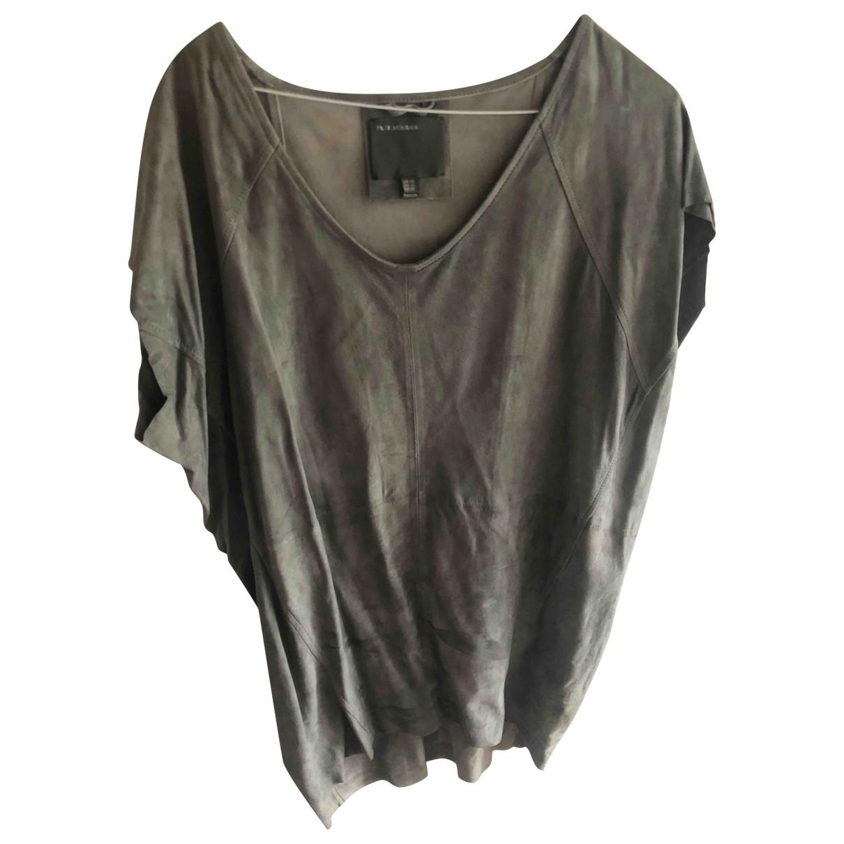 Muubaa \N Grey Suede dress for Women 10 UK