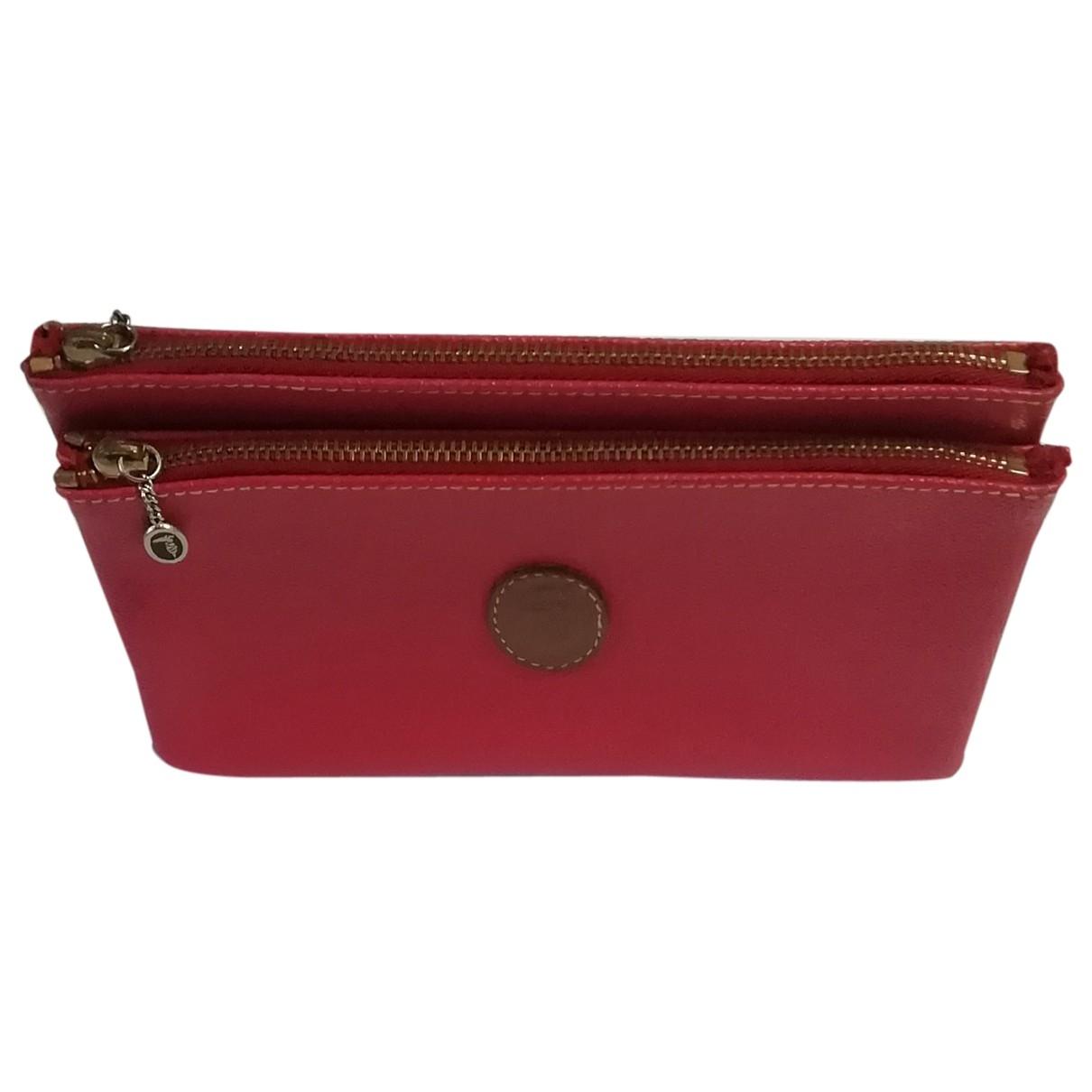 Trussardi \N Portemonnaie in  Rosa Leder
