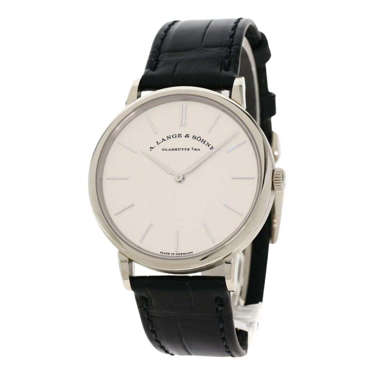 Relojes de Oro blanco A. Lange & Sohne