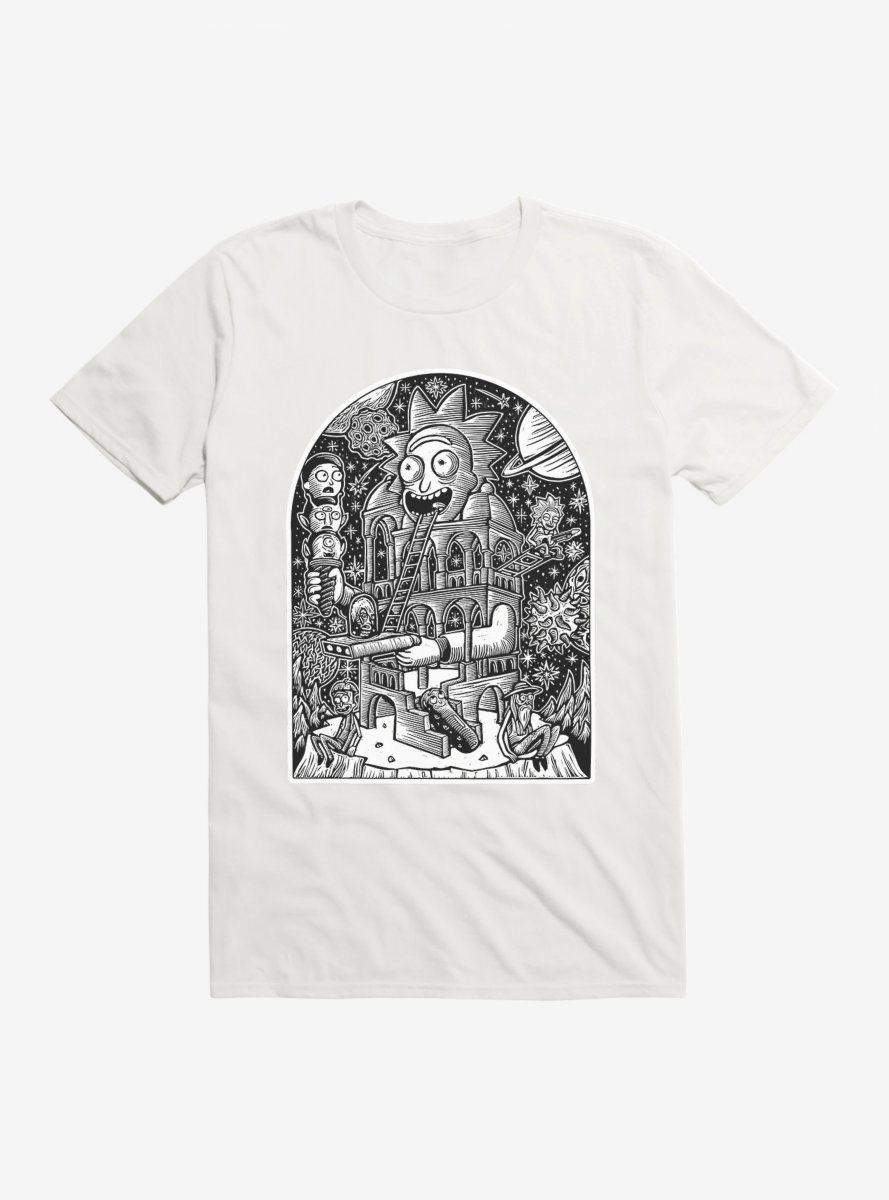 Rick And Morty Temple Of Rick T-Shirt
