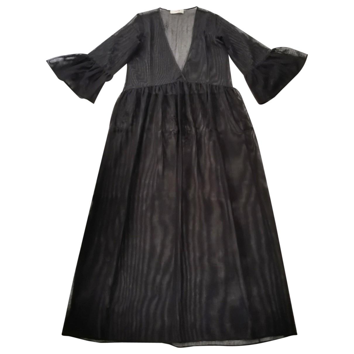 Jucca \N Kleid in  Schwarz Polyester