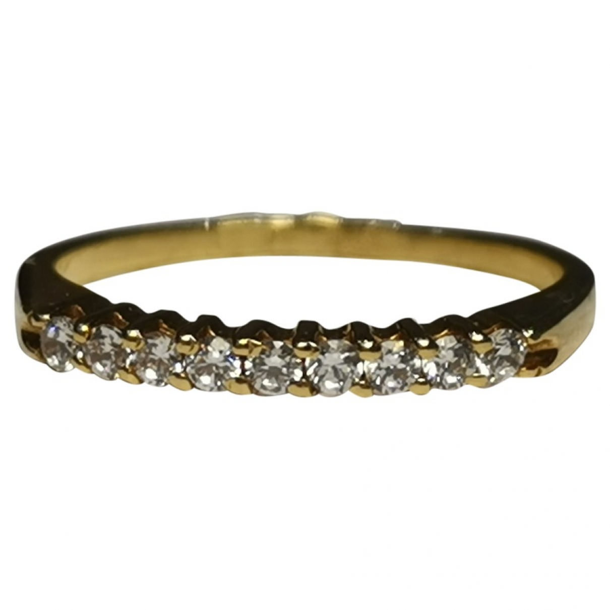 Non Signé / Unsigned \N Yellow Yellow gold ring for Women 52 MM