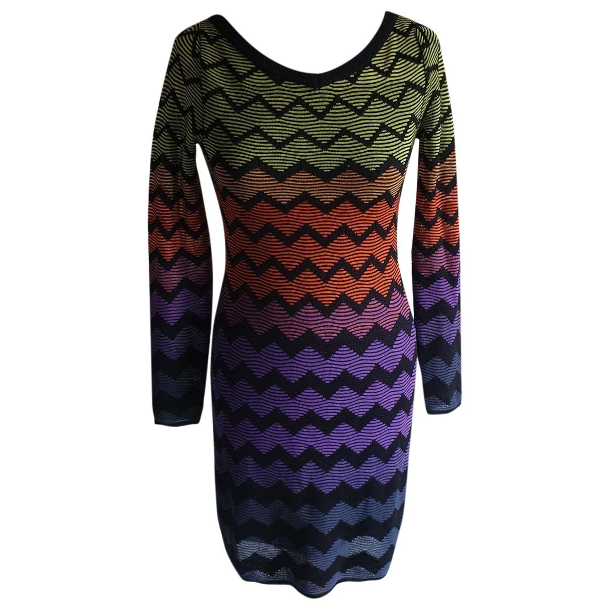 M Missoni \N Multicolour Cotton - elasthane dress for Women 38 IT