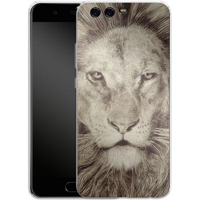 Huawei P10 Silikon Handyhuelle - Leo Lion von Eric Fan