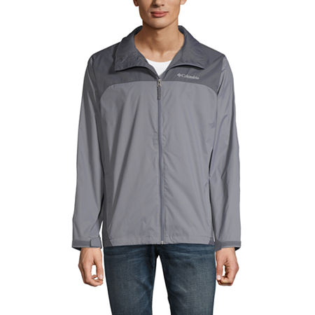 Columbia Glennaker Lake Waterproof Lightweight Rain Jacket, Small , Gray