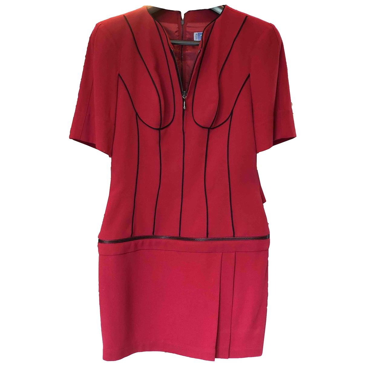Thierry Mugler \N Kleid in Wolle