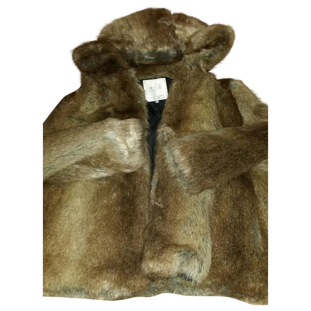 Abrigo de Pelo sintetico Zara
