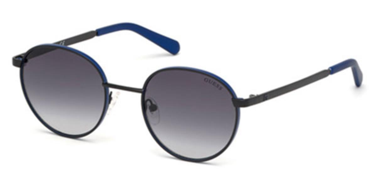 Guess GU 6947 02B Men's Sunglasses Black Size 51