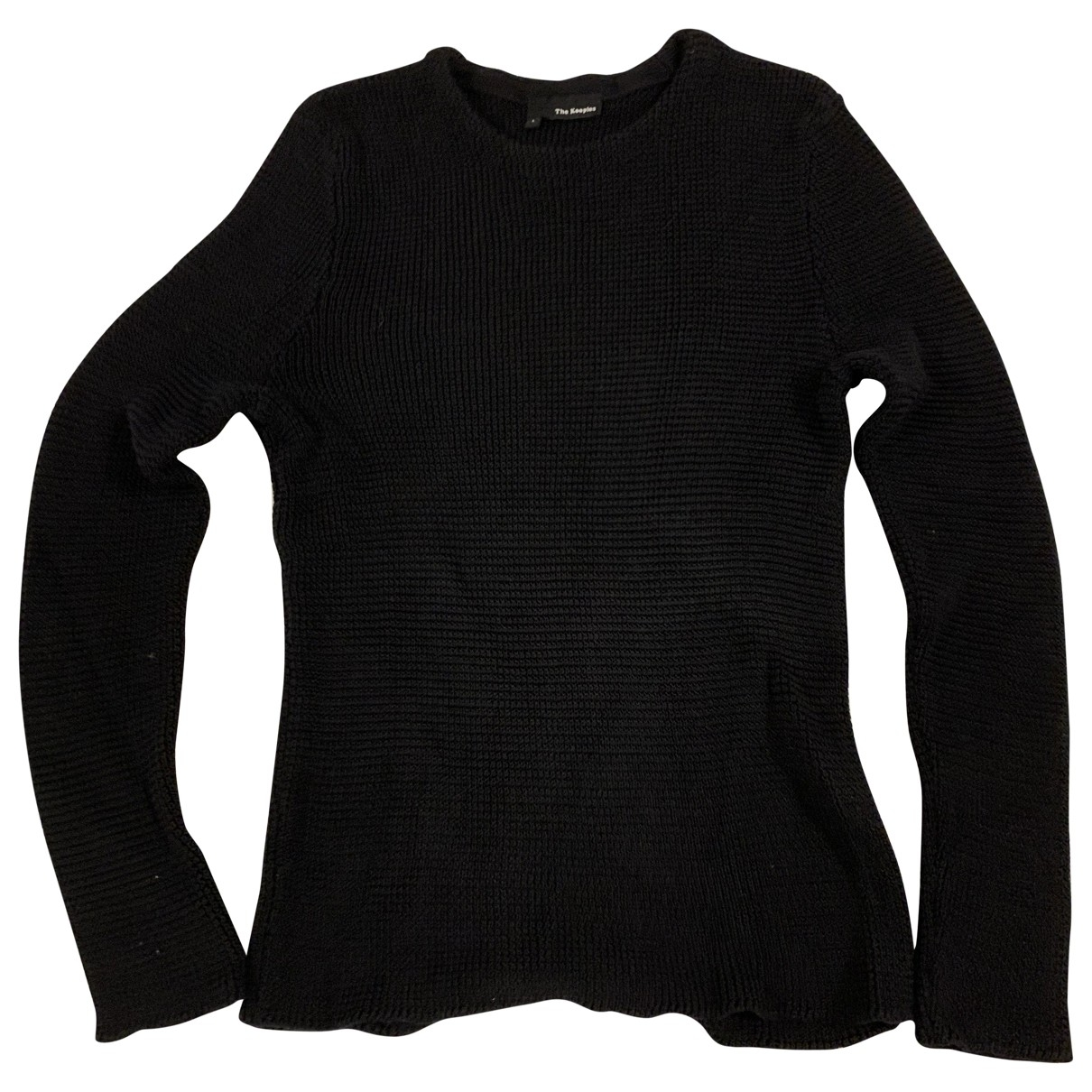 The Kooples \N Pullover.Westen.Sweatshirts  in  Schwarz Baumwolle
