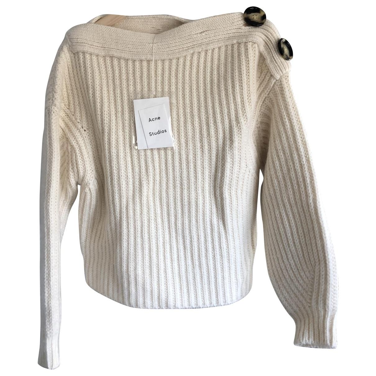 Acne Studios \N White Wool Knitwear for Women XS International