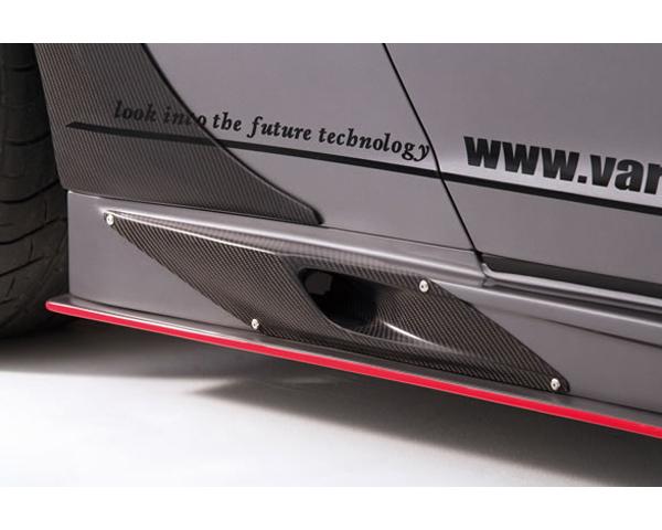 Varis VANI-108 Carbon Side Skirt Option   Brake Duct Nissan GTR R35 09-20