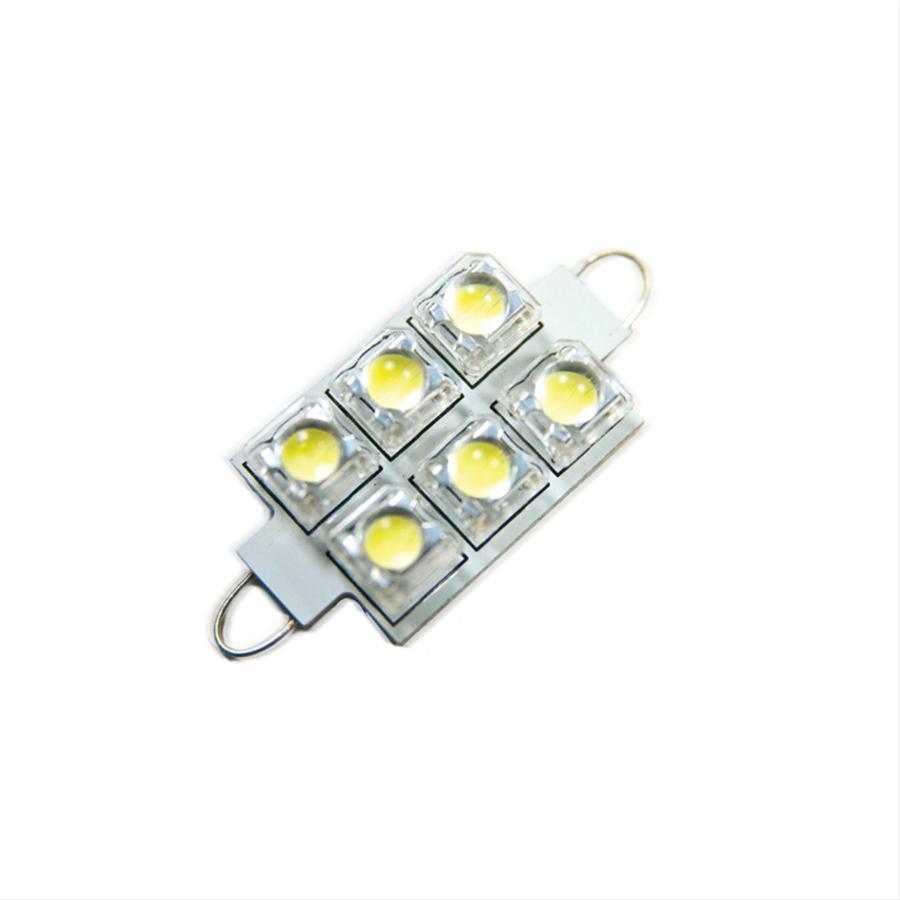 Oracle Lighting 5209-001 ORACLE 44MM 6 LED 3 Chip - Loop Festoon Bulbs (Pair) - White