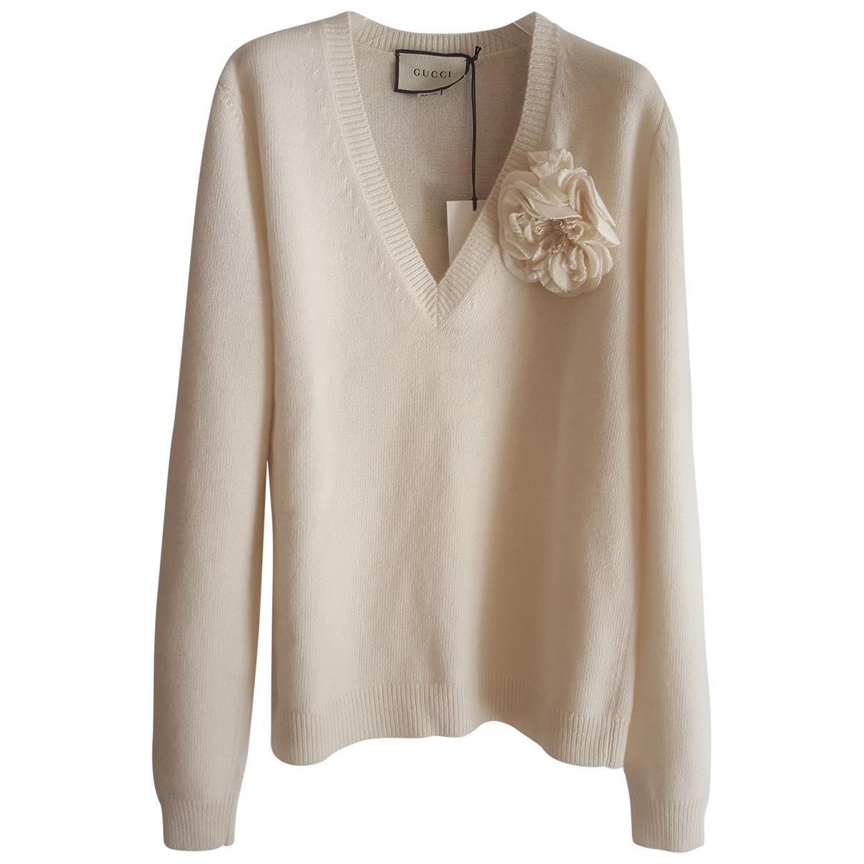 Gucci \N White Cashmere Knitwear for Women S International
