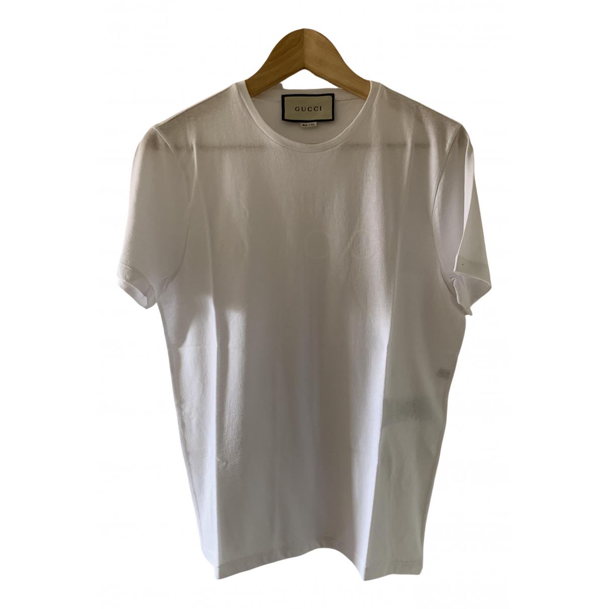 Gucci \N White Cotton T-shirts for Men S International