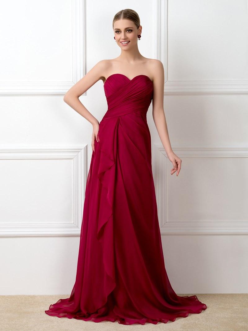 Charming A-Line Sweetheart Empire Bridesmaid Dress