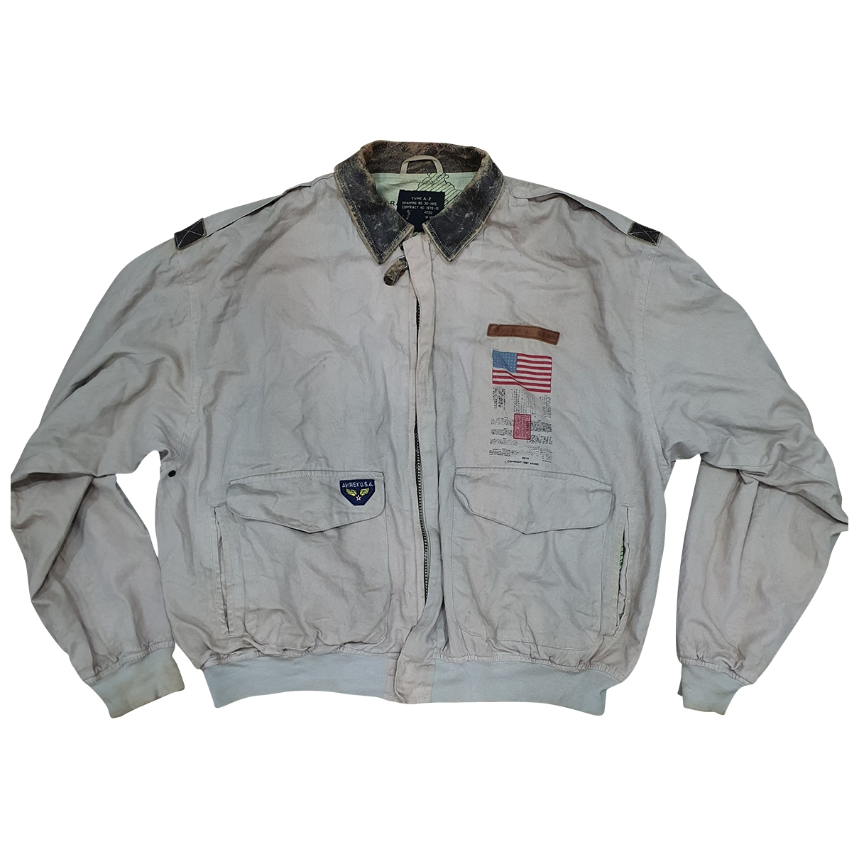 Avirex \N Cotton jacket  for Men S International