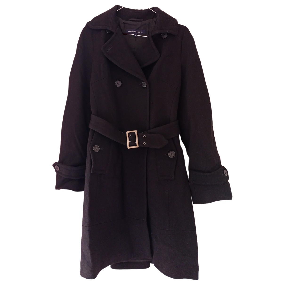 French Connection N Black Wool coat for Women 8 US
