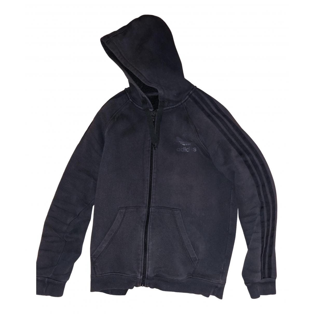 Adidas \N Pullover.Westen.Sweatshirts  in  Schwarz Baumwolle