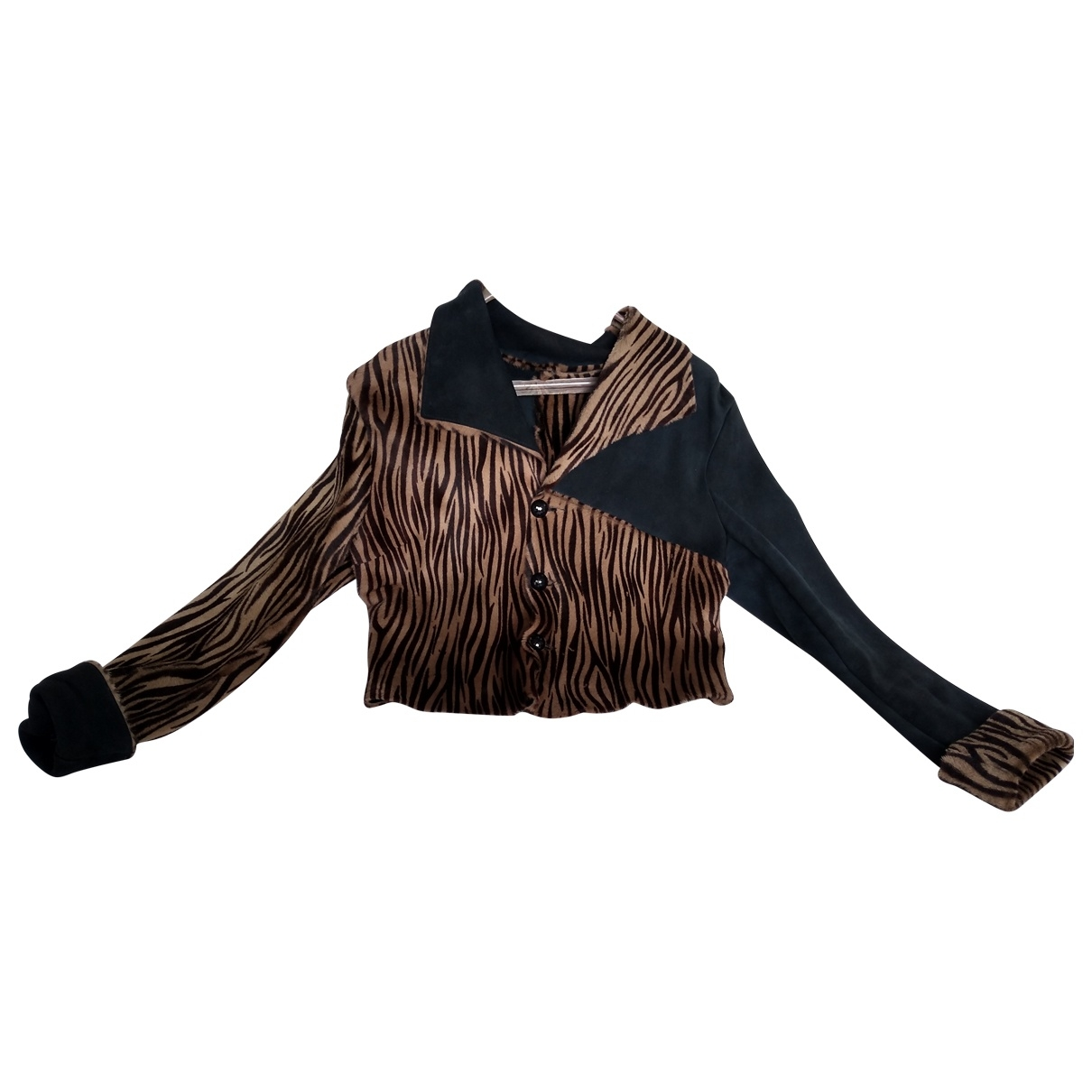 Just Cavalli \N Multicolour Fur Leather jacket for Women M International