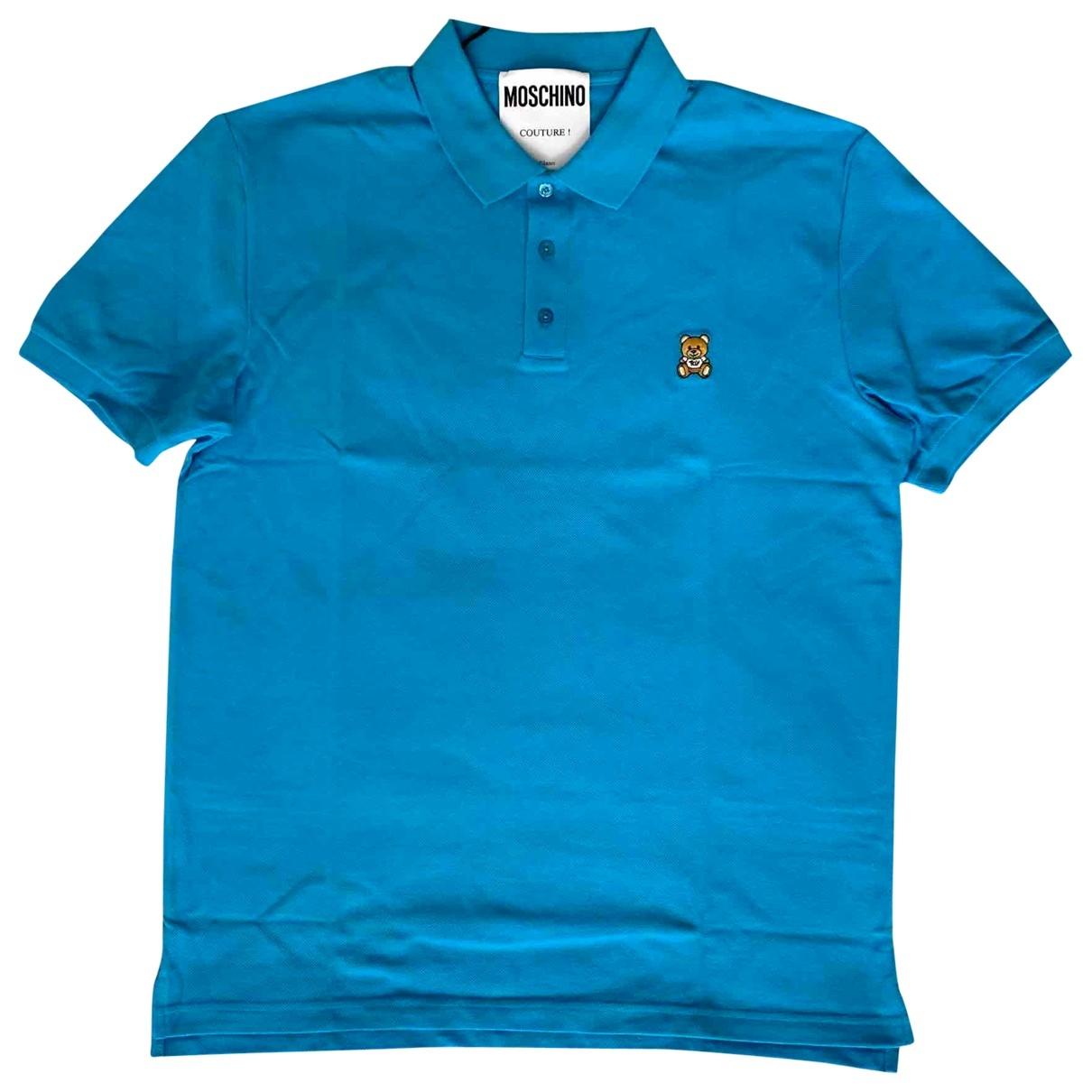 Moschino \N Poloshirts in  Blau Baumwolle