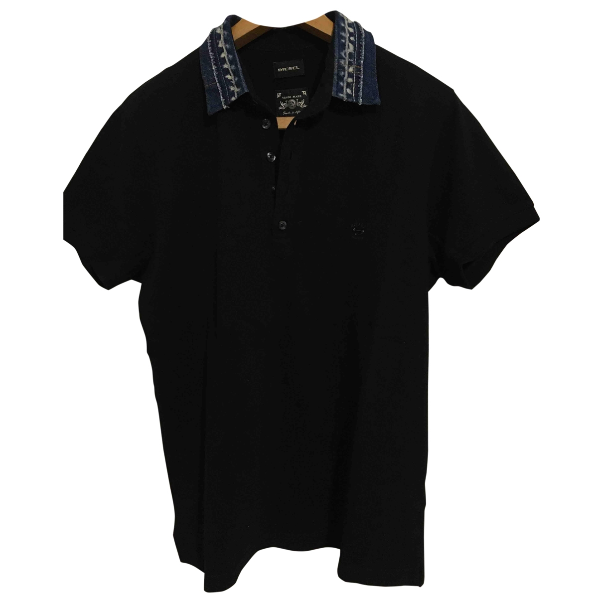 Diesel \N Black Cotton Polo shirts for Men M International