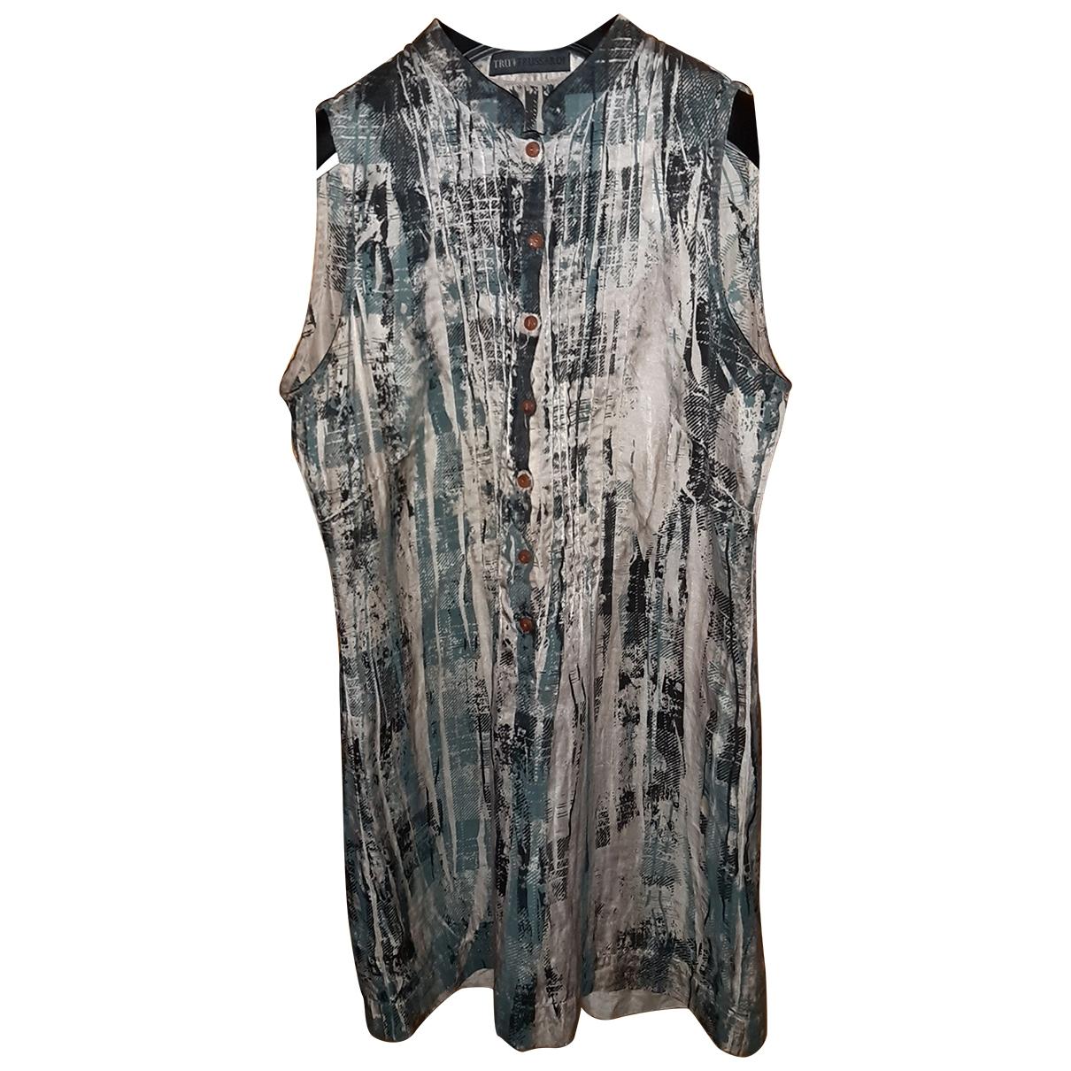 Trussardi \N Multicolour Silk  top for Women 38 IT