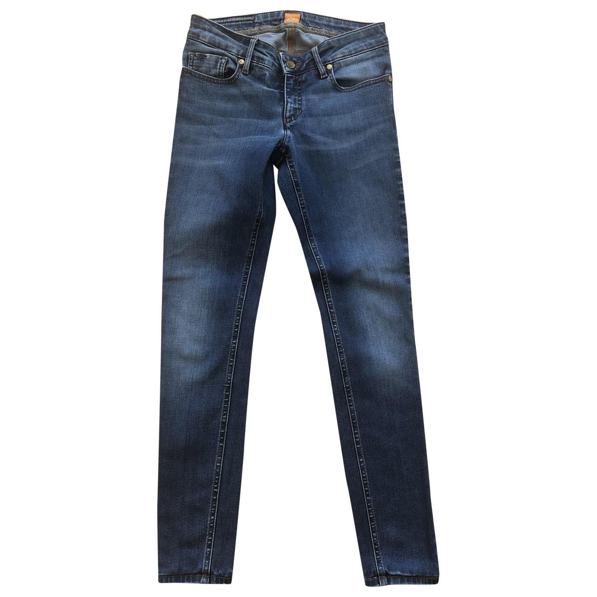 Boss Orange \N Blue Cotton Jeans for Women 25 US