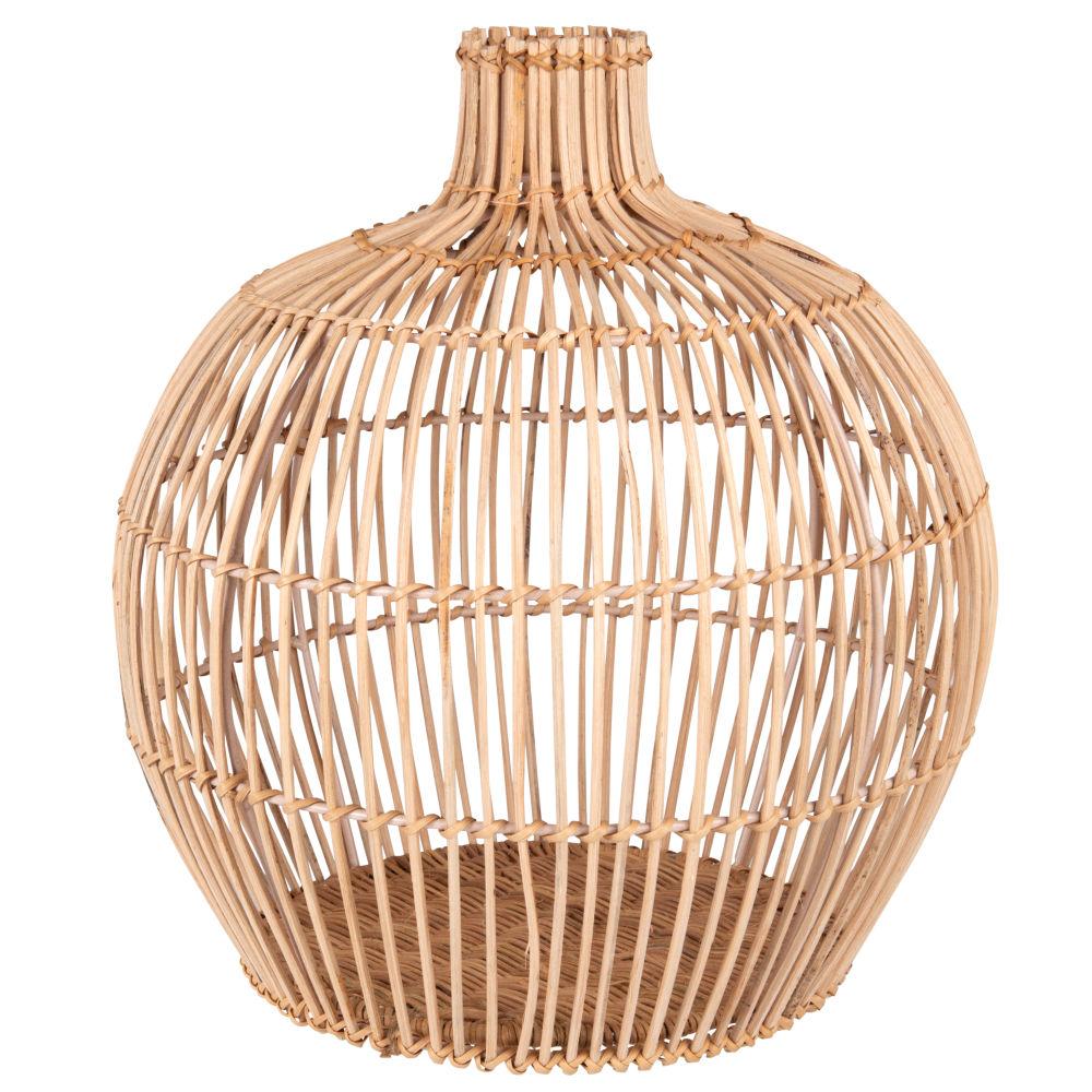 Vase aus Rattan H30