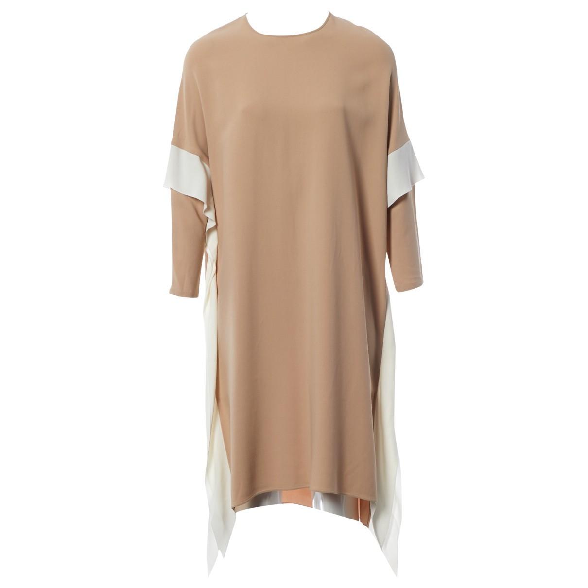 Agnona - Robe   pour femme - beige