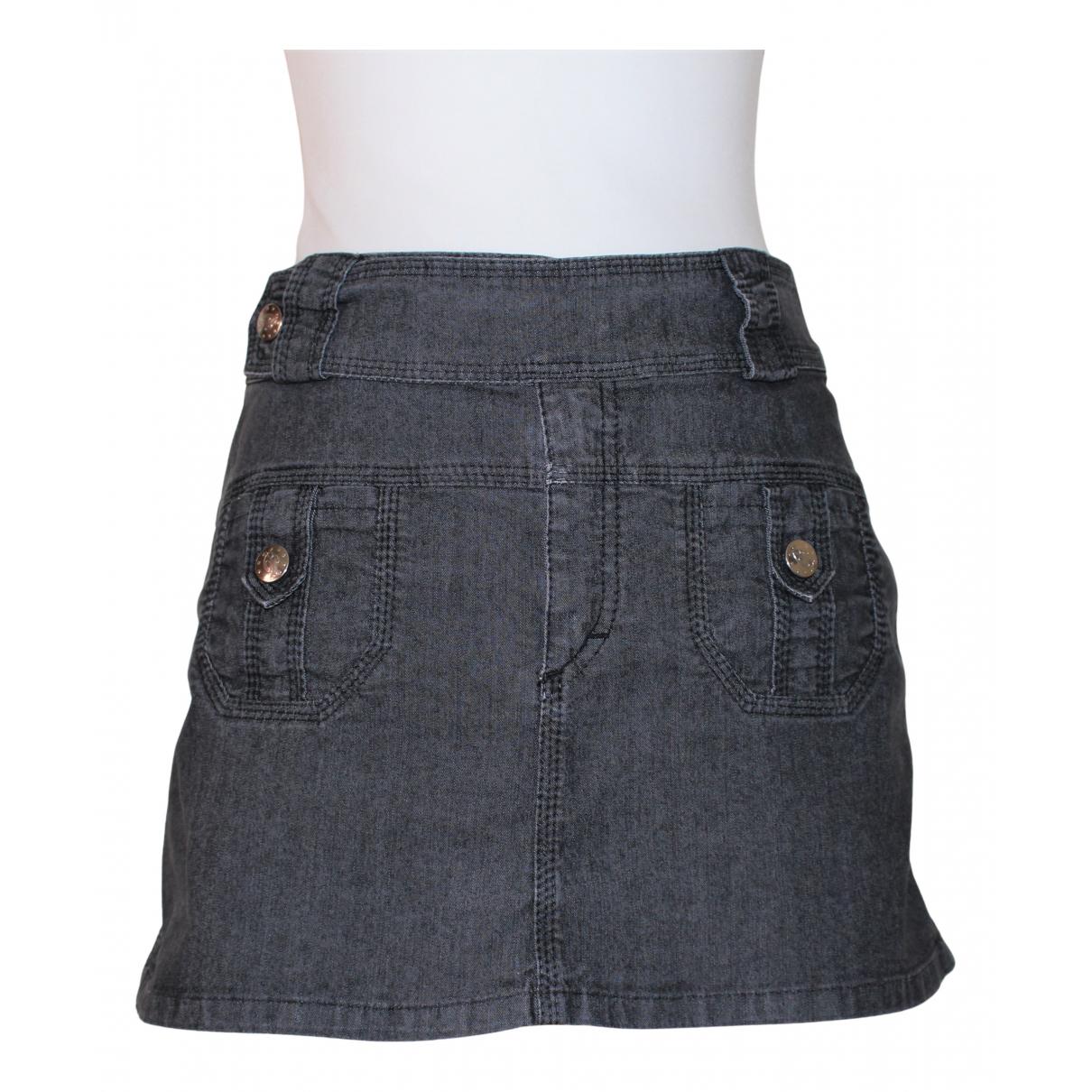 Blumarine N Black Denim - Jeans skirt for Women 40 IT