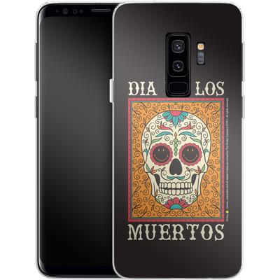 Samsung Galaxy S9 Plus Silikon Handyhuelle - Dia De Los Muertos von Smiley®