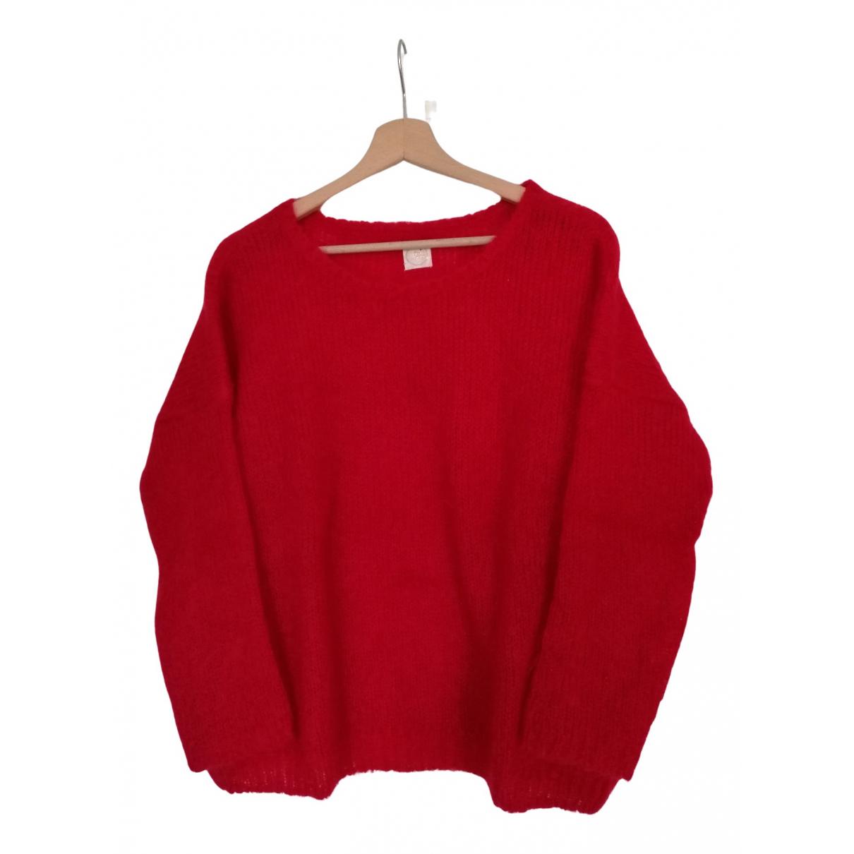 Des Petits Hauts - Pull   pour femme en laine - rouge