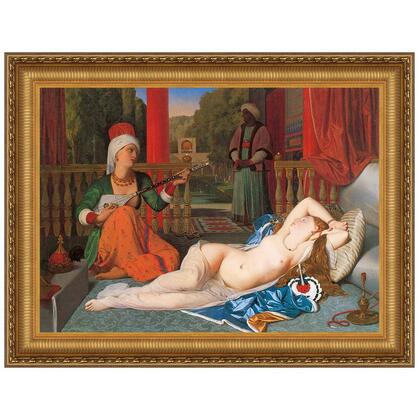 DA2174 47X35.5 Odalisque With Slave