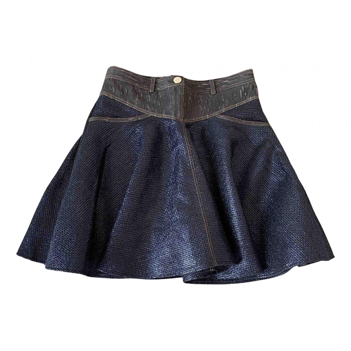 Versace \N Rocke in  Metallic Baumwolle