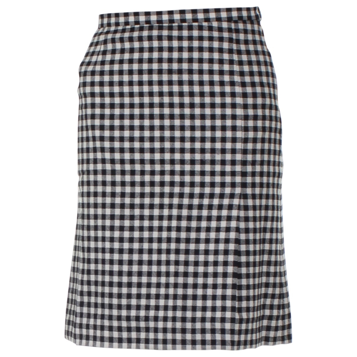 Moschino Cheap And Chic \N White Wool skirt for Women 38 IT
