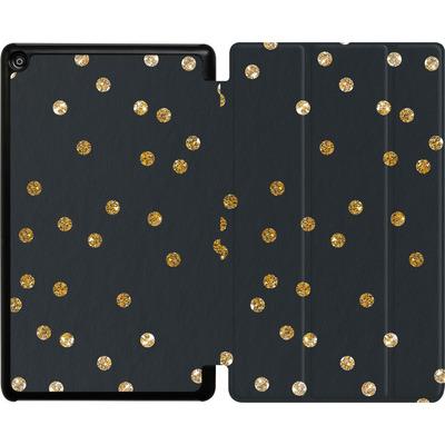 Amazon Fire HD 8 (2018) Tablet Smart Case - Gold Dots von Khristian Howell