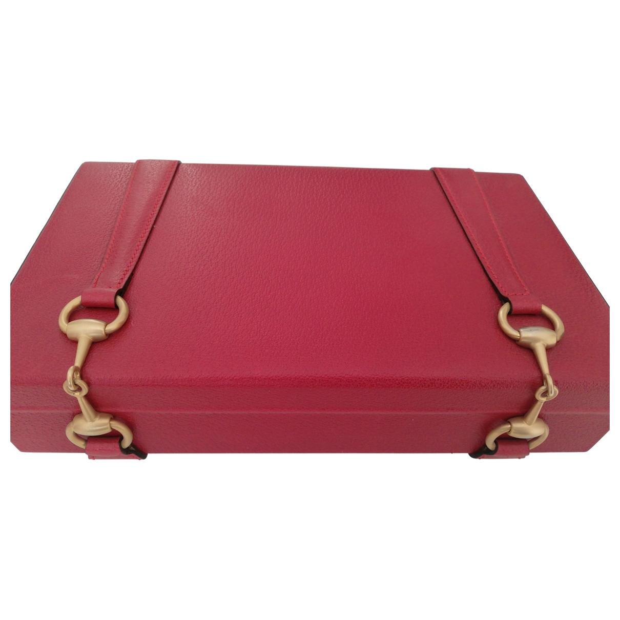 Gucci - Objets & Deco   pour lifestyle en cuir - rouge