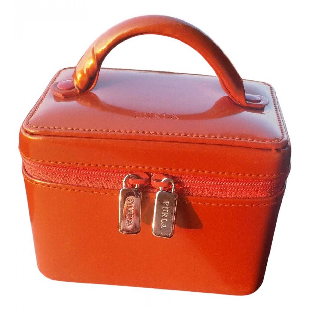 Furla - Petite maroquinerie   pour femme en cuir - orange