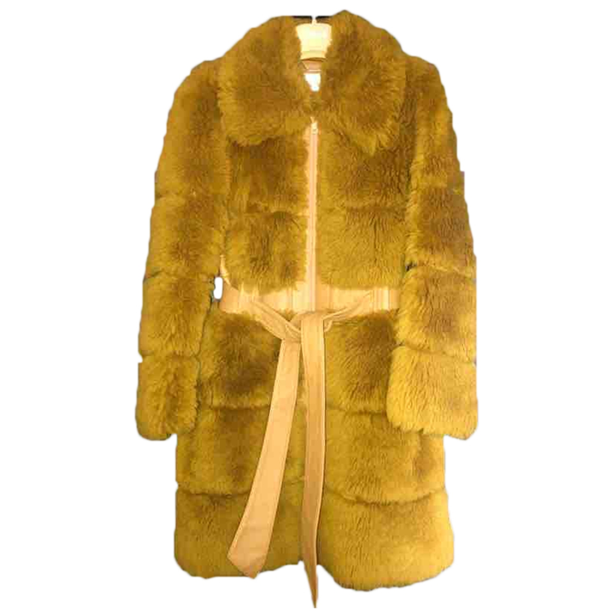 Chloé \N Brown Fur coat for Women 34 FR
